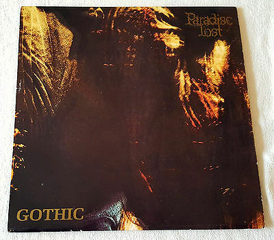 Paradise Lost - Gothic - LP - 1991 Rare UK First Press Peacville VILE 26 OIS