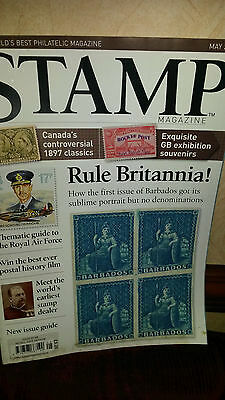Stanley Gibbons Stamp Monthly Magazine - May 2008