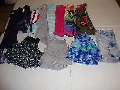 Lot Of Girls Justice Brand Clothes Size 8 Great For Spring Summer