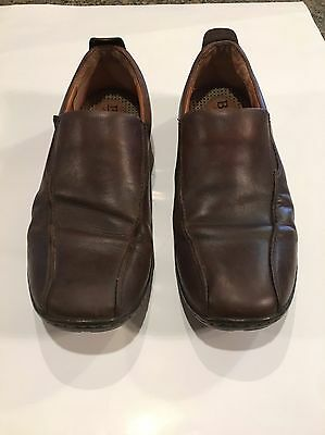 Men's Born Leather Shoes Size 13 M Slip On Brown Handcrafted Footwear