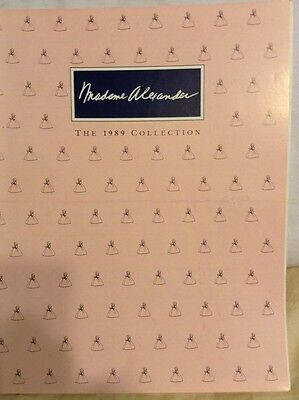 Madame Alexander Doll 1989 Collection Magazine Booklet Catalogue & Price Guide