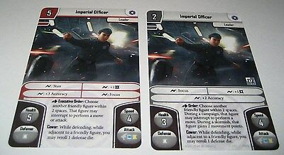 Imperial Officer - Star Wars Imperial Assault promo card english