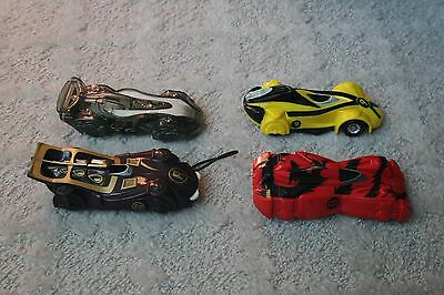 Lot of 4 McDonalds Toy Speed Racer Cars Toys