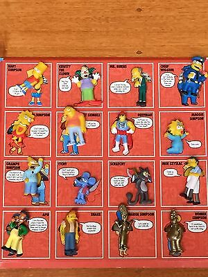 The Simpsons 20th Anniversary STICK'EMS Collector Album with 16 stick'ems