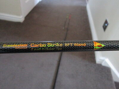 fishing rod 8ft wand feeder rod with carbon pattern