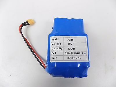 Balancing Scooter Samsung X215 36V Lithium Battery 4.4AH 22PM Replacement Part