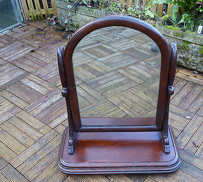 Antique Mahogany Dressing Mirror