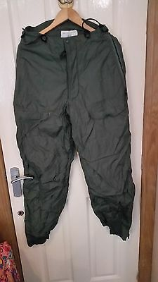 US aircrew extreme cold weather trousers