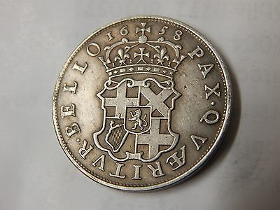 1658 oliver cromwell half crown pattern blondeau