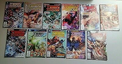 Dc comics The New 52 Teen Titans #1 - 11 and The Culling pt 1