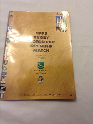 rugby union first game of 1995 World Cup tournament