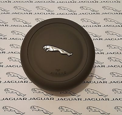 Genuine Jaguar XJ, XE, XF, F-TYPE 2015+ Steering Wheel Airbag, Grey, New.