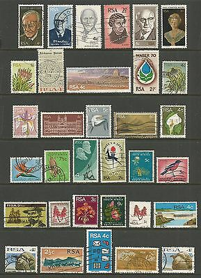 SOUTH AFRICA - mixed collection No.9, decimal