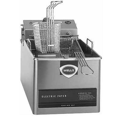 Wells LLF-14 Countertop 14lb Standard Twin Basket Electric Fryer