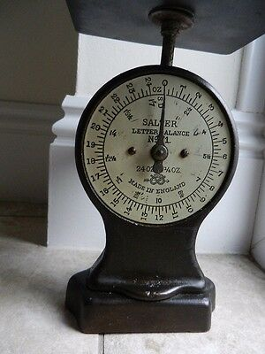"""Vintage """"Salter"""" letter balance scales.In original condition & working order."""