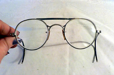 Vintage Bausch & Lomb Safety Glasses with Flexible Arms