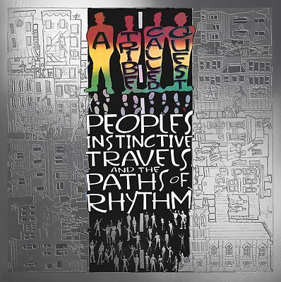 A Tribe Called Quest People's Instinctive Travels Paths Of Rhythm Lp Vinyl Q-Tip