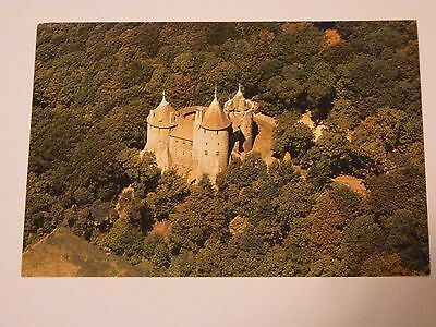 Old postcard - Castell Coch Tongwynlais Wales (unused)