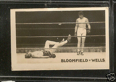THE ROCKET - Famous Knock-Outs - 1923 - No.2 - The Bloomfield-Wells Fight.