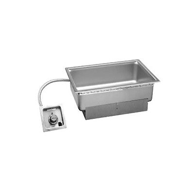 Wells Full Size Built-In Top Mount Food Warmer W/ Drain - Ss-206Tdu