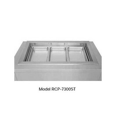 Wells RCP-7100ST (1) Full Size Pan Drop-in Slope Top Cold Food Well Unit