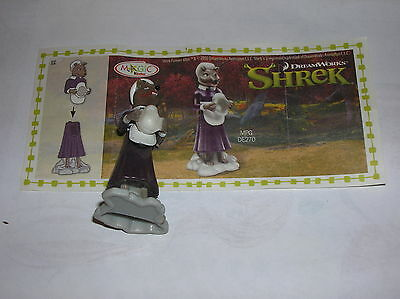 Kinder   Serie Shrek   Lupo  De270  +  Cartina