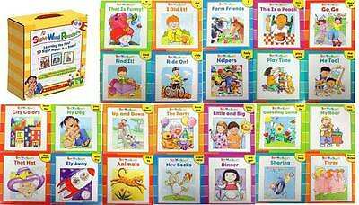 Scholastic Sight Word Readers 50 Sight Words, 25 Storybook Readers,parent tips +