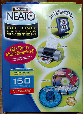 Fellowes NeatO CD DVD Labeling System