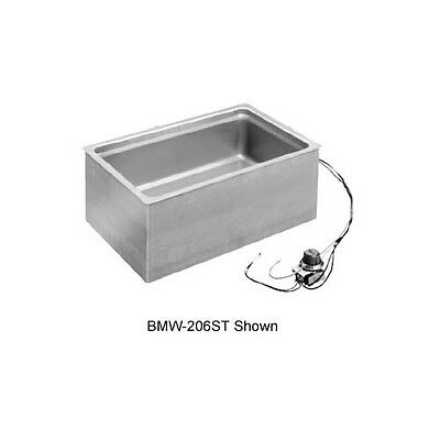 "Wells BMW-206ST 12""x20"" Bottom Mount Built-in Thermostatic Food Warmer"