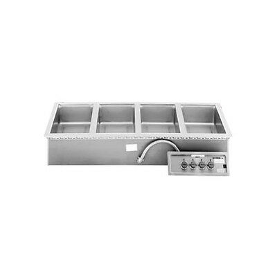 "Wells MOD-400TDAF (4) 12""x20""Built-in Top Mount Food Warmer & 2 Control Panels"