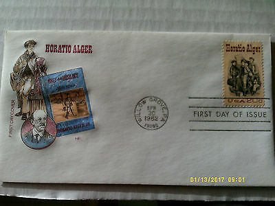 FDC House of Farnam #2010 Horatio Alger unaddressed