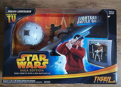 Starwars Saga Edition Lightsaber Battle Game