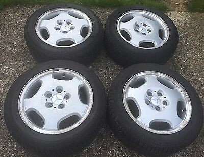 Set Of 4 Wheels And Tyres For Mercedes CLK
