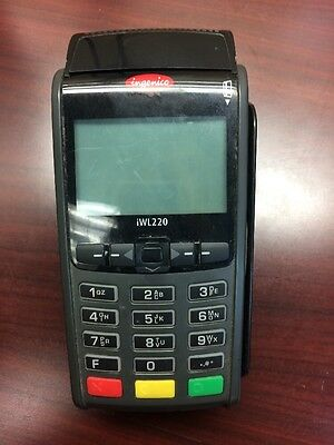 INGENICO iWL220 BLUETOOTH CREDIT CARD READER TERMINAL ONLY