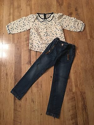 Next ~ Top & Skinny Jeans ~Age 6