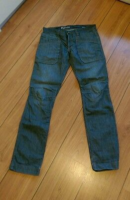 mens blue jeans size w32 l34 from burton