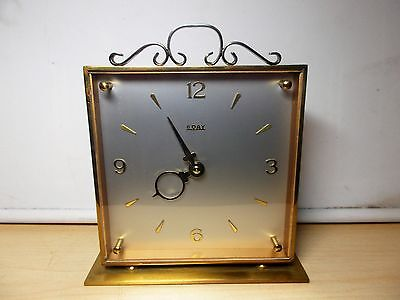 Super Vintage Smiths 8 Day Movement Mantle Clock. G.W.O.