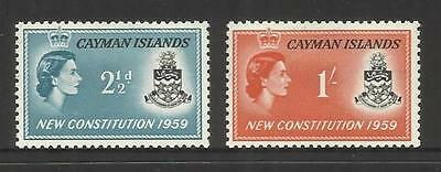 Cayman Islands ~ 1959 New Constitution (Mint Mh)