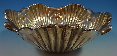 Whiting Sterling Silver Salad Bowl Repoussed Lettuce Leaf #2520 (#1404)