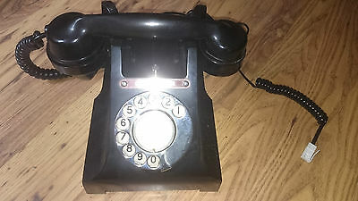 GPO 312F Retro Old Bakalite phone converted and working