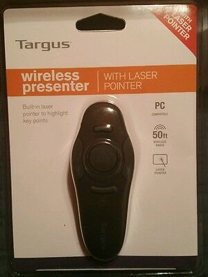 Targus AMP16US Presentation Pointer WIRELESS PRESENTER W/ LASER POINTER