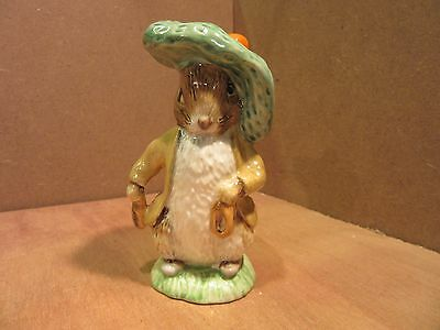 Royal Albert Beatrix Potter Figure BENJAMIN BUNNY