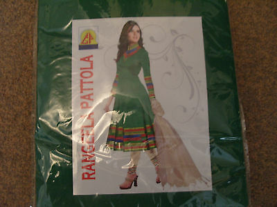 BRAND NEW unsewn unstitched Indian / Pakistani / anarkali suit material