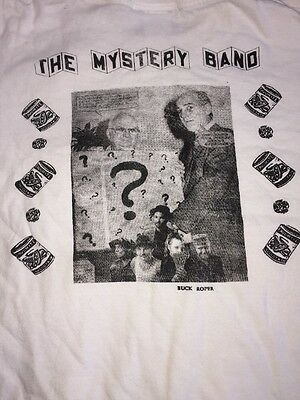 Vtg The Mystery Band Shirt Early 90's Sympathy For The Record Industry LG Rare