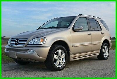 2005 Mercedes-Benz M-Class ML350 2005 Mercedes ML350 V6 4MATIC Premium -Extra Clean - Free Warranty - Low Reserve