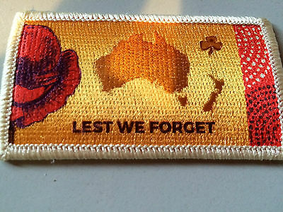Girl Guides / Scouts Lest We Forget