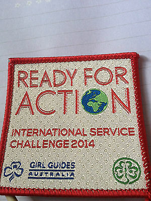 Girl Guides / Scouts Ready for Action 2014