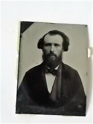 1860s Tintype James Harvey Brownell with Dates