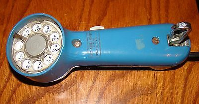 Vintage Blue Western Electric Bell Lineman Rotary Phone Line Tester