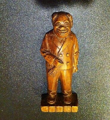 Antique / Vintage Syroco Wood Statue hand carved Wooden figure SyrocoWood